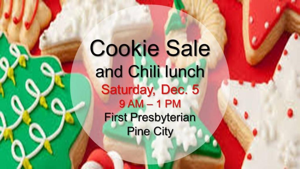 Cookie Sale 2015